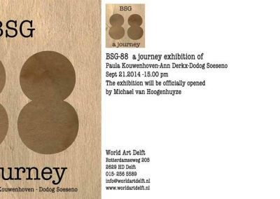 A journey, World Art Delft.