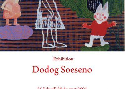 Dodog Soeseno ( Taman Tertutup ) -Duta fine Art Foundation Jakarta