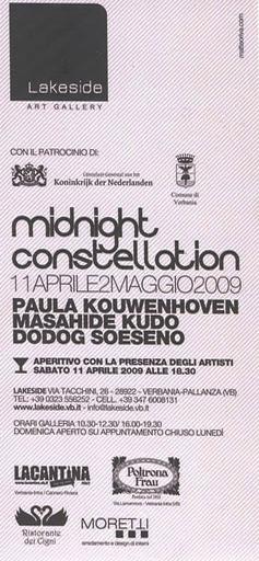 Exhibition Midnight Constellation I