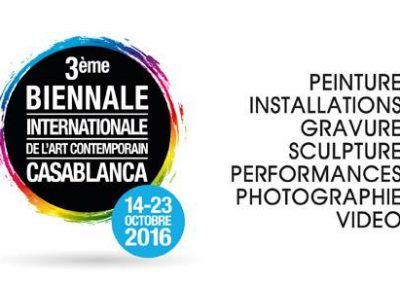 3ème Biennale Internationale de l'art contemporain Casablanca.